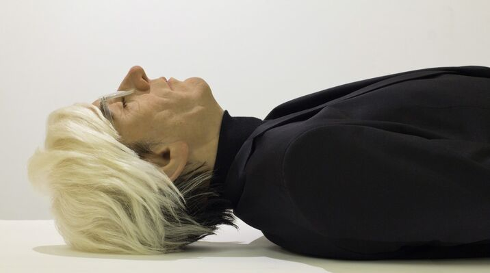 Here Died Warhol, installation view