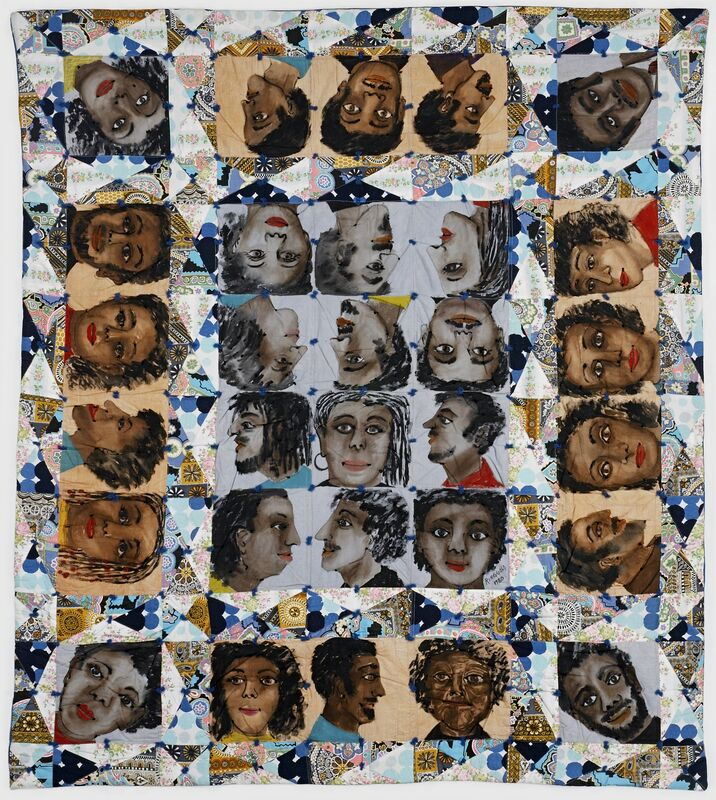 Faith Ringgold, 'Echoes of Harlem', 1980, Painting, Paint on cotton, The Studio Museum in Harlem