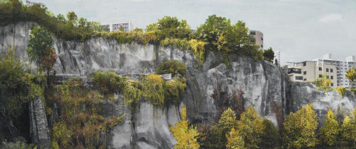 Honggoo Kang, 'Study of Green-Seoul-Vacant Lot-Changshin-dong 1', 2019