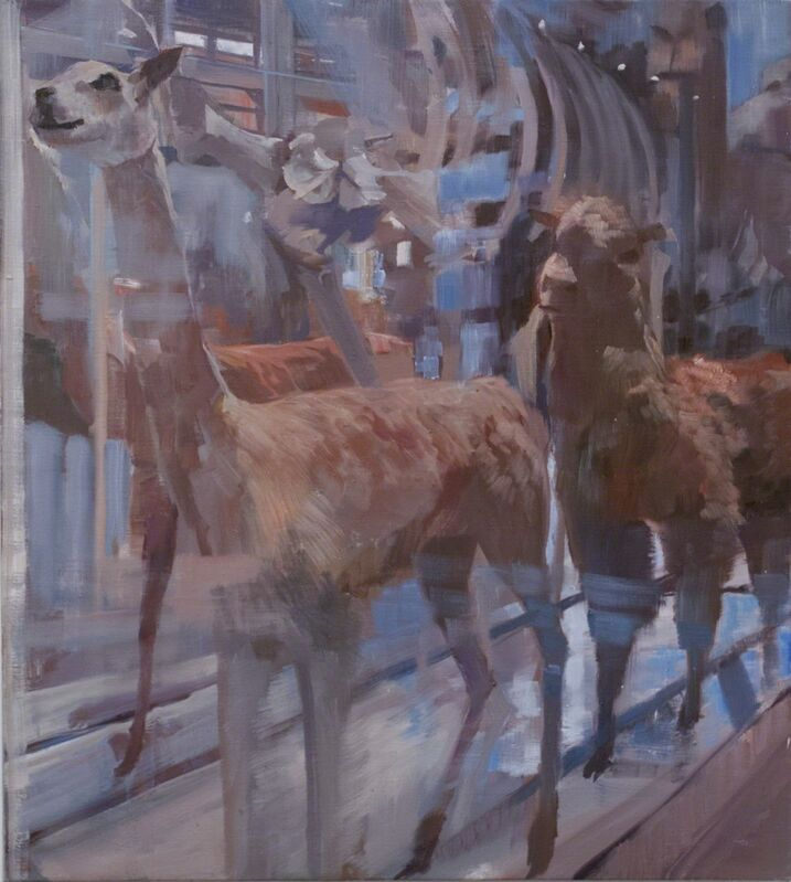 Adam Cvijanovic, 'Naming the Animals (1)', 2012, Painting, Oil on canvas, Postmasters Gallery