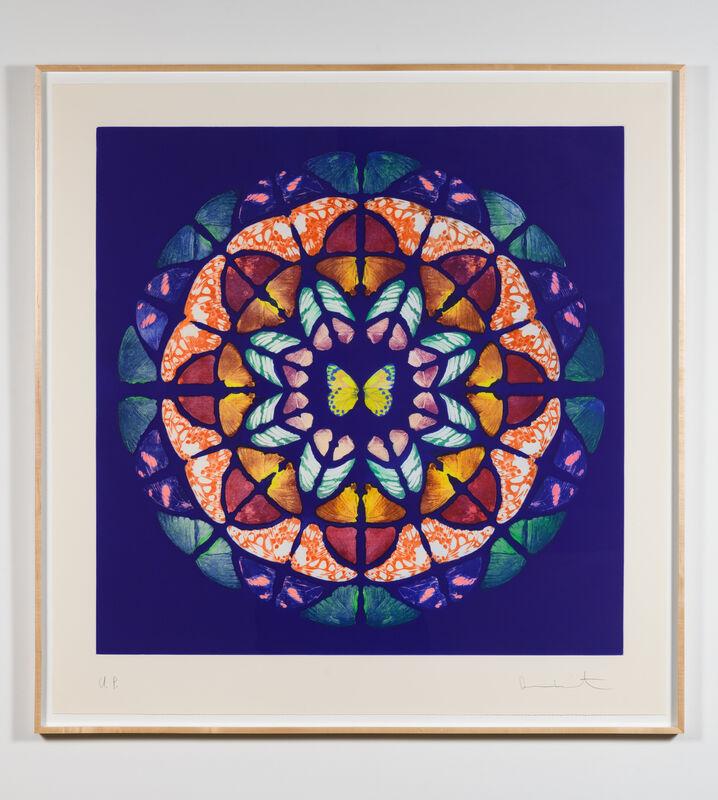 Damien Hirst, 'Sanctum (#865)', 2009-2016, Print, Unique color photogravure etching, Leslie Sacks Gallery