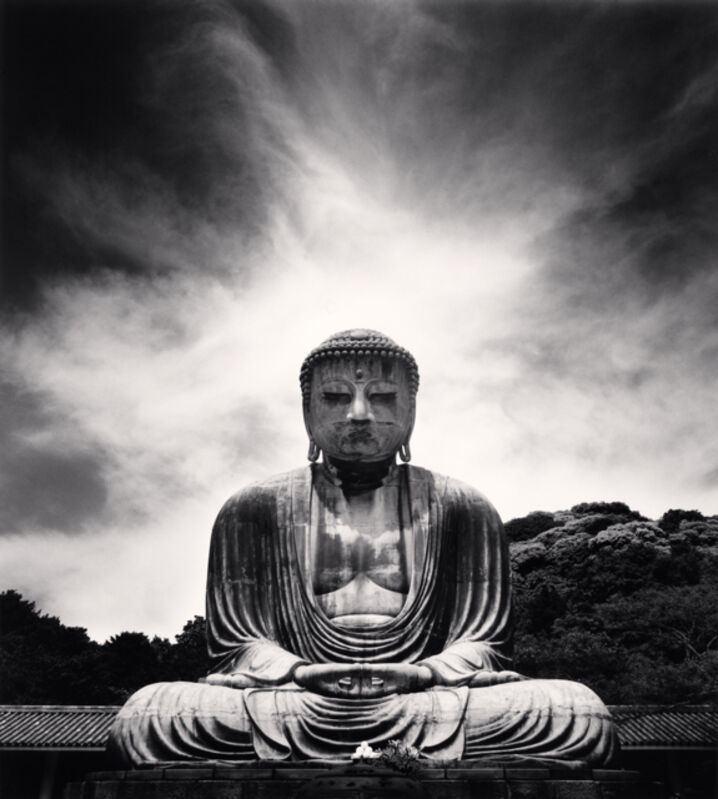 Michael Kenna, 'Amidha Buddha, Kotoku-in, Kamakura, Honshu, Japan', 2007, Photography, Sepia toned silver gelatin print, Ira Stehmann Fine Art Photography