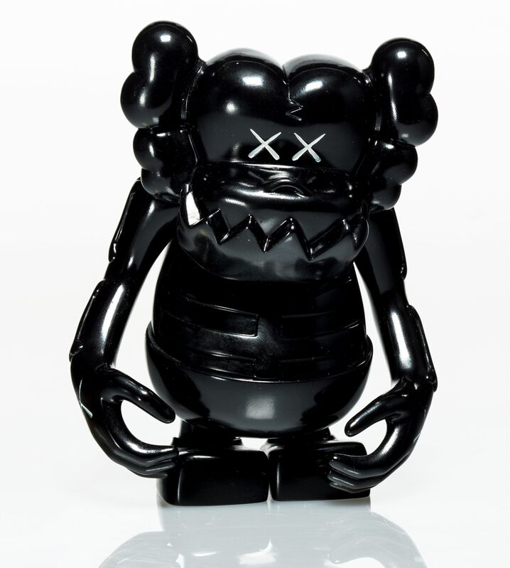 KAWS, 'Skull Kun (Black)', 2006, Sculpture, Painted cast vinyl, Heritage Auctions