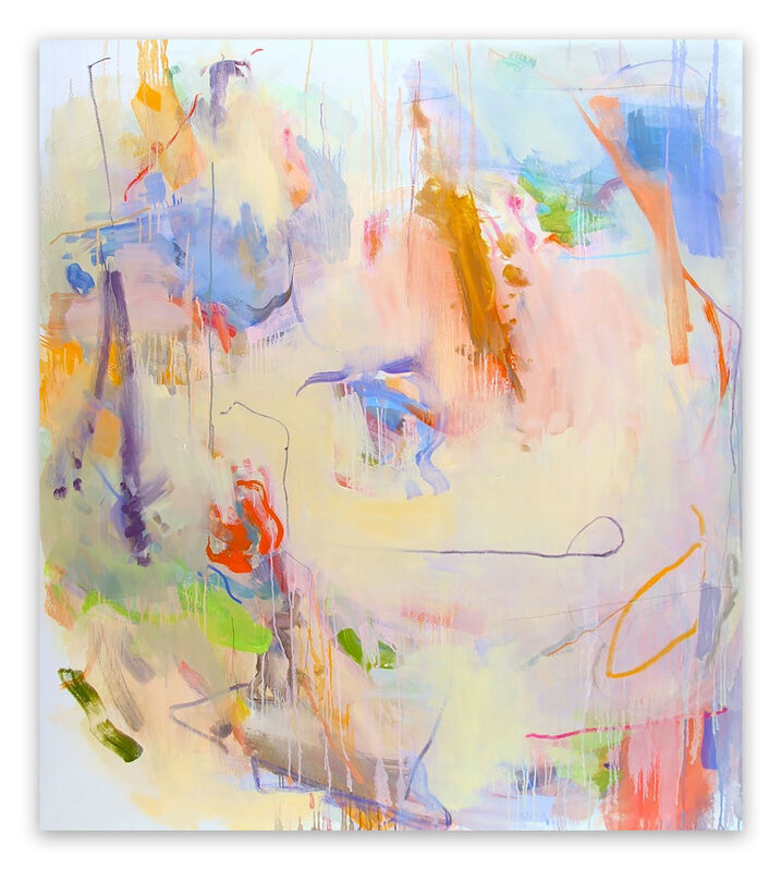 Gina Werfel, 'Faded Light  (Abstract Expressionism painting)', 2008, Painting, Oil on canvas, IdeelArt