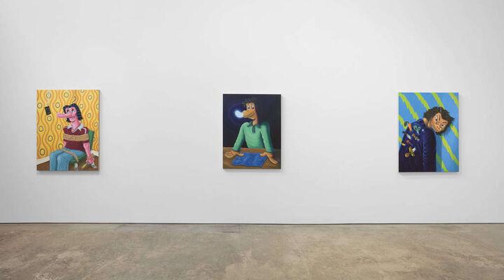 "Nicasio Fernandez ""Something's Off"", installation view"
