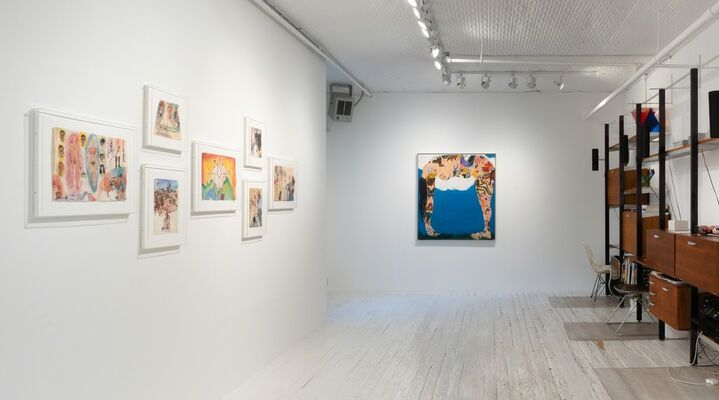 Martha Edelheit Flesh Walls: Tales From the 60s, installation view