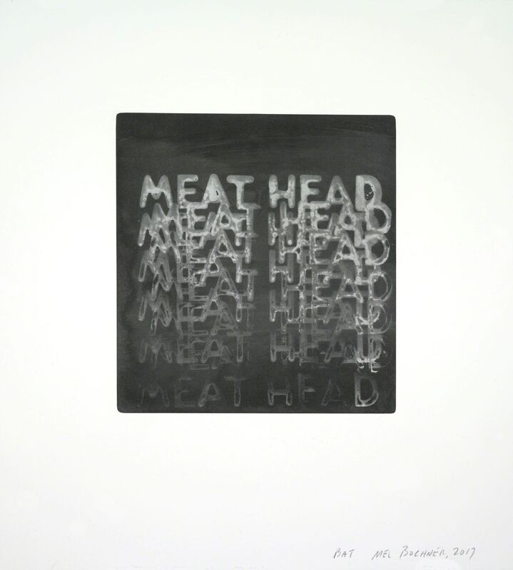 Mel Bochner, 'Meathead', 2017, Print, Photogravure, Two Palms