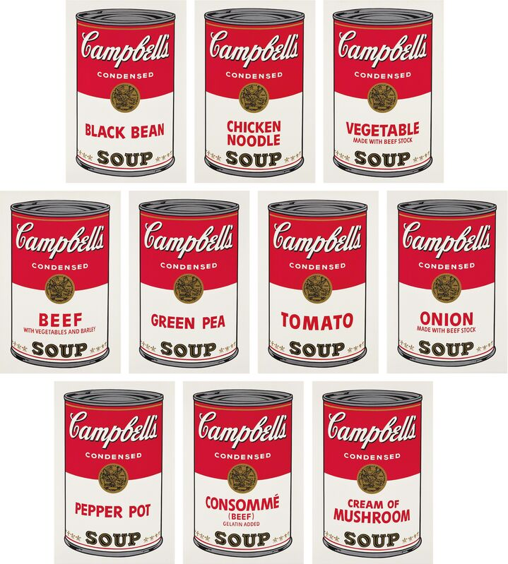 Andy Warhol, 'Campbell's Soup I', 1968, Print, The complete set of 10 screenprints in colors, on wove paper, with full margins, Phillips