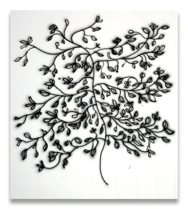 Anne-Lise Coste, 'Branch IV', 2014, Painting, Airbrush on canvas, Lullin + Ferrari