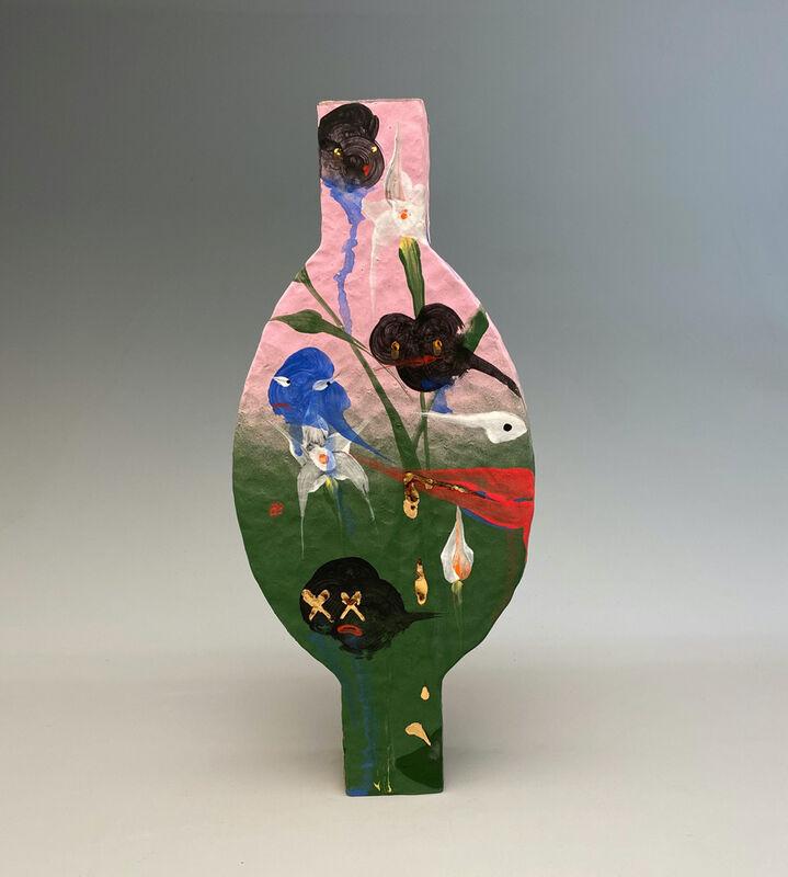 Alex Anderson, 'Vessel', 2020, Sculpture, Stoneware, glase, gold luster, Gavlak