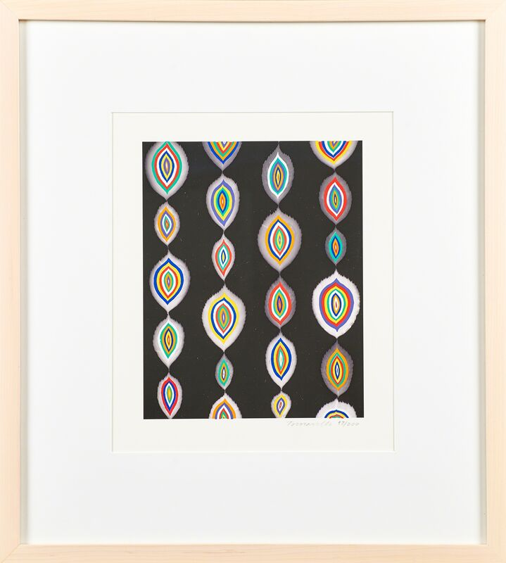 Fred Tomaselli, 'Bloom', Print, Screenprint in colors over archival inkjet print, Rago/Wright