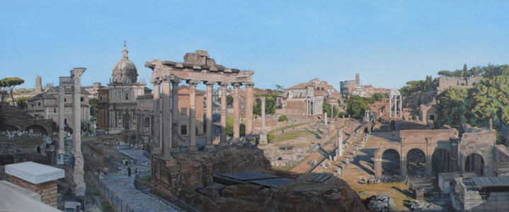 David Wheeler, 'The Forum, Rome'