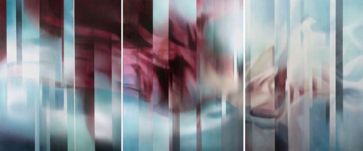 Leo WANG, 'Composition en Bleu', 2014