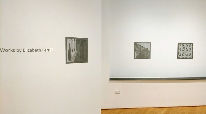 New Works by Elizabeth Ferrill, installation view