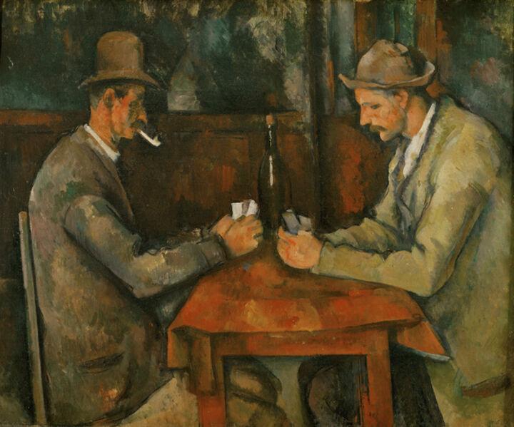 Paul Cézanne, 'The Card Players', 1890-1895