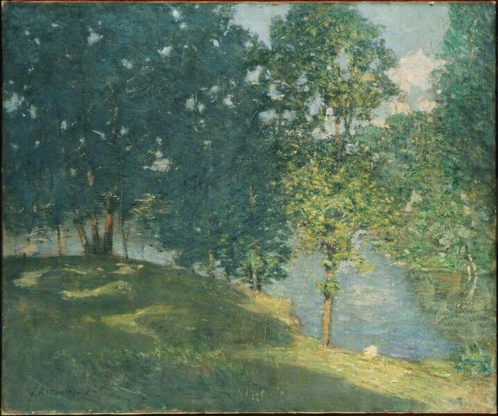 Julian Alden Weir, 'Afternoon by the Pond', 1908-1909