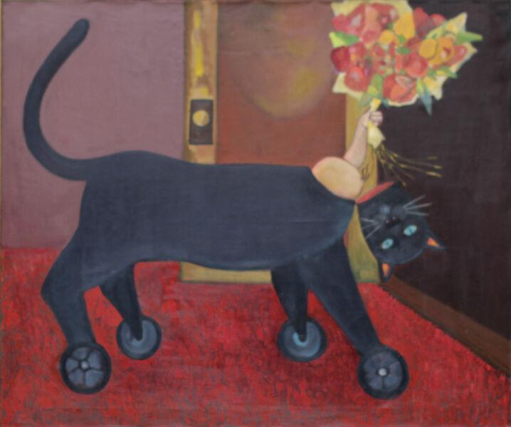 Stephen Basso, 'trojan cat', ca. 1988
