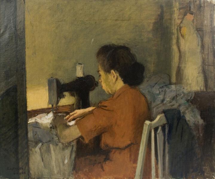Raphael Soyer, 'The Seamstress', 1947