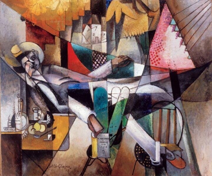 Albert Gleizes, 'L'Homme au Hamac [Man in a Hammock]', 1913