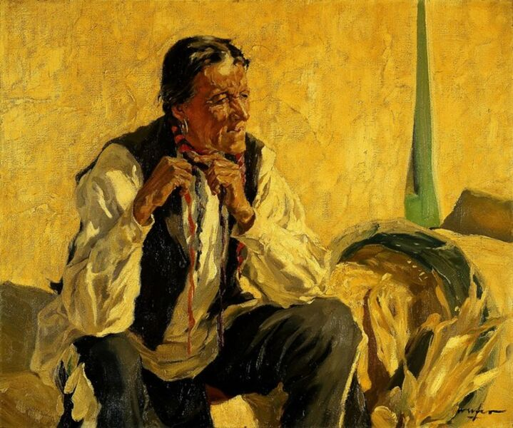 Walter Ufer, 'I Well Remember', circa 1930-1935