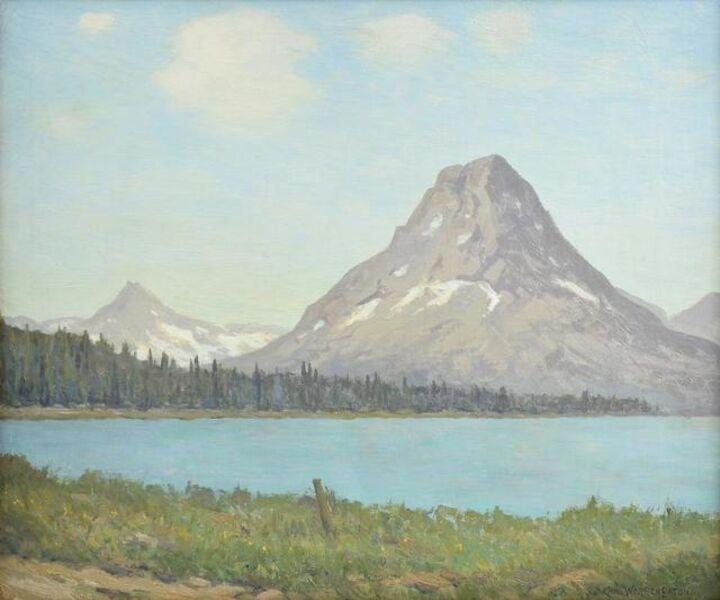 Charles Warren Eaton, 'Mount Rockwell, Glacier National Park, Montana', 1921