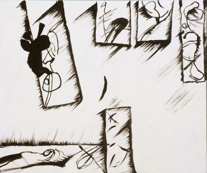 John Meredith, 'Black and White Painting ', 1979