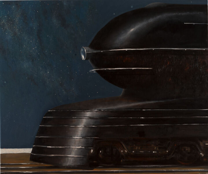 Julio Larraz, 'Per Ardua ad Astra', 2015