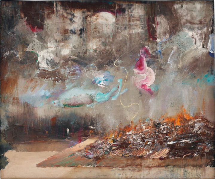 Adrian Ghenie, 'Burning Books', 2014