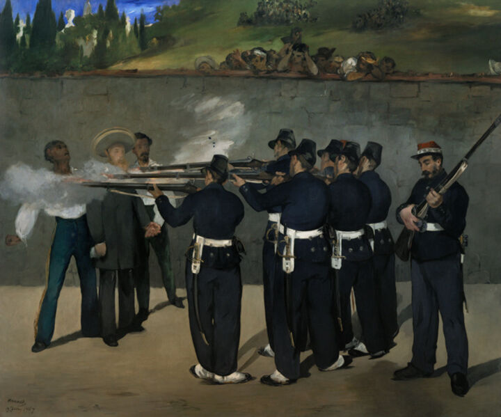 Édouard Manet, 'The Execution of Emperor Maximilian of Mexico, June 19, 1867', 1868-1869