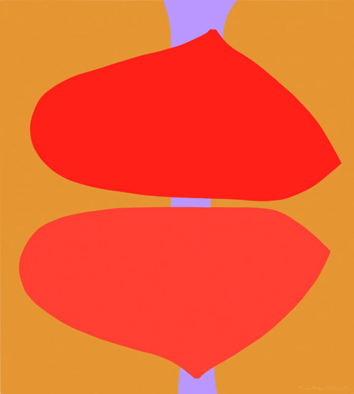 Maud Morgan, 'Untitled S XXVI', 1973, Print, Screen print, Childs Gallery