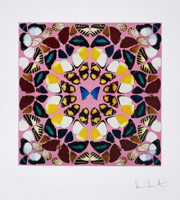 Damien Hirst, 'Beneficence', 2015, Print, Giclee with glaze on wove paper, Kenneth A. Friedman & Co.