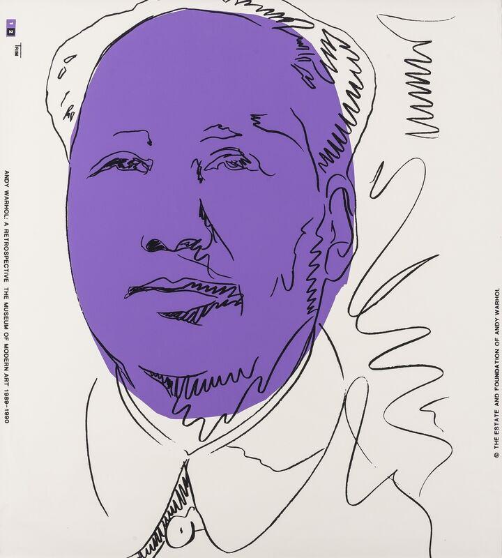Andy Warhol, 'Mao (Feldman and Schellmann II.125A)', Print, Screenprint in colours, Forum Auctions