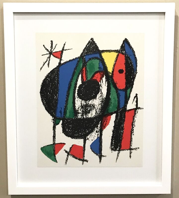 Joan Miró, 'Plate V', 1975, Print, Lithgraph, Georgetown Frame Shoppe