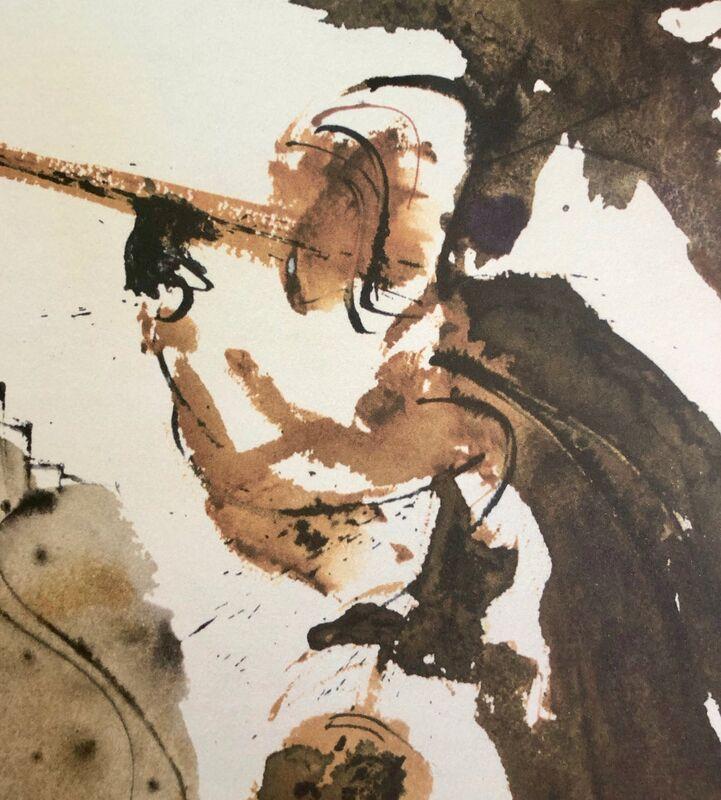 Salvador Dalí, 'Blow The Trumpet In Zion, 'Canite Tuba In Sion', Biblia Sacra', 1967, Print, Original Lithograph, Inviere Gallery