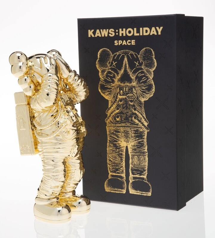 KAWS, 'Holiday: Space (Gold)', 2020, Sculpture, Painted cast vinyl, Heritage Auctions