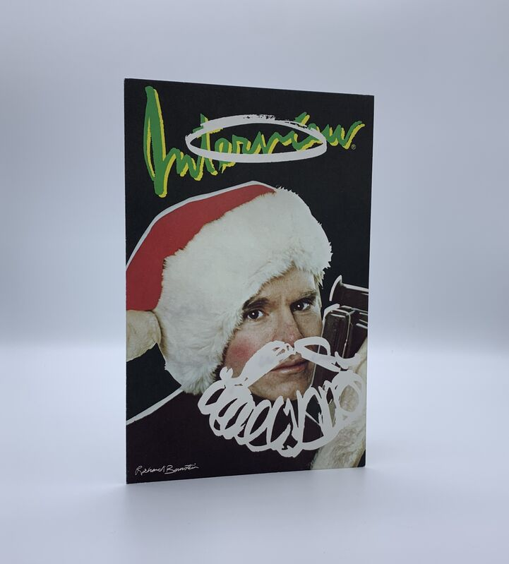 Andy Warhol, 'Interview Christmas Card (Signed)', ca. 1985, Ephemera or Merchandise, Ink, card, Artificial Gallery