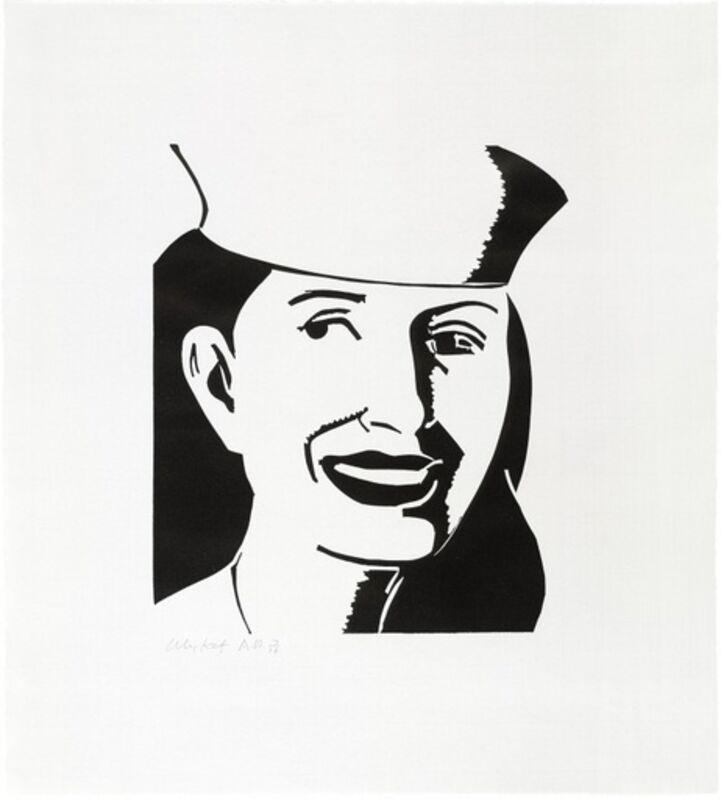 Alex Katz, 'The Sailor Hat', 2003, Print, Linocut on iyo glazed paper, BAM