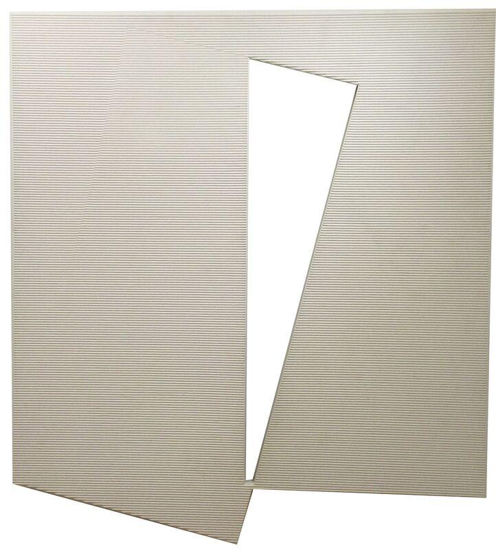 Francisco Salazar, 'Le Plein du Vide', 2001, Painting, Corrugated cardboard, wood and acrylic paint, Leon Tovar Gallery