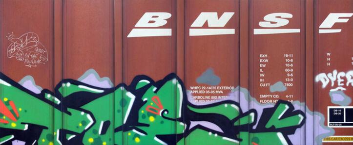 Tim Conlon, 'Blank Canvas #88 - BNSF & Blank Canvas #89 - BNSF', 2019
