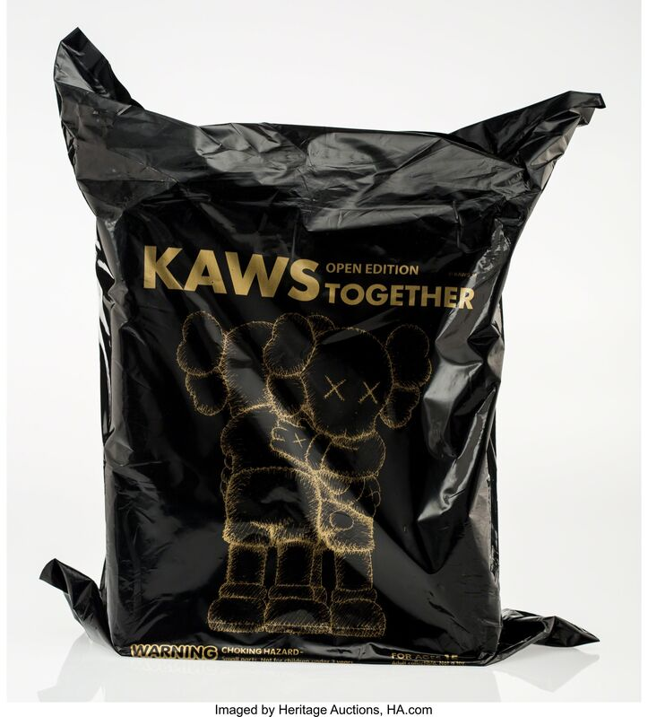 KAWS, 'Together (Black)', 2018, Other, Painted cast vinyl, Heritage Auctions