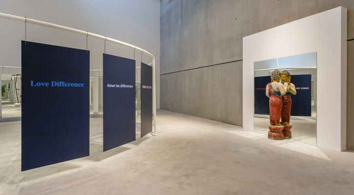 Michelangelo Pistoletto, installation view