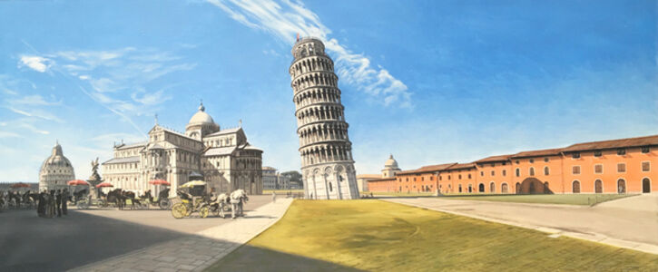 David Wheeler, 'The Field Of Miracles, Pisa  '
