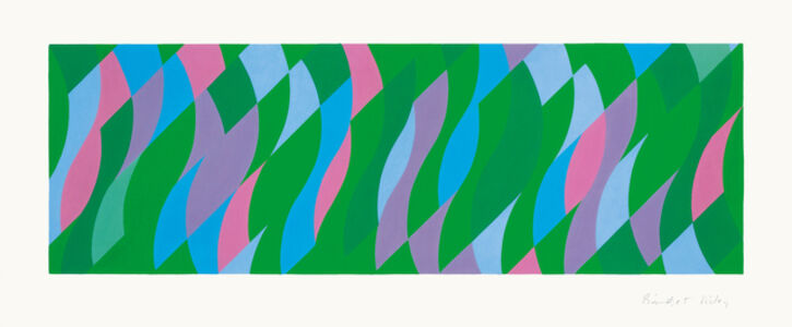 Bridget Riley, 'Passing By', 2005