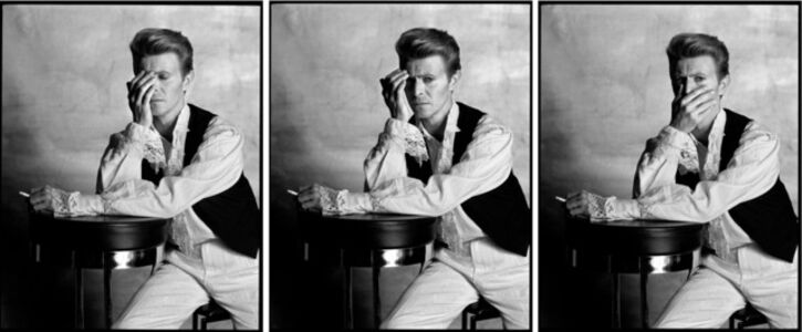 Tony McGee, 'Untitled (David Bowie Triptych 1988)', 2019