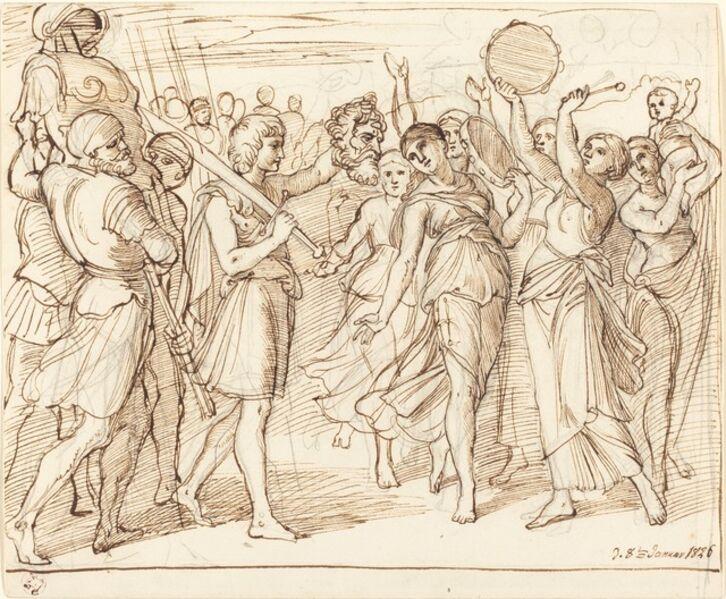 Julius Schnorr von Carolsfeld, 'The Triumph of David', 1826