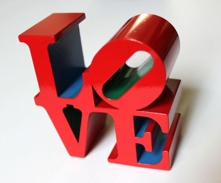 Robert Indiana, 'LOVE, RED BLUE GREEN', 1995