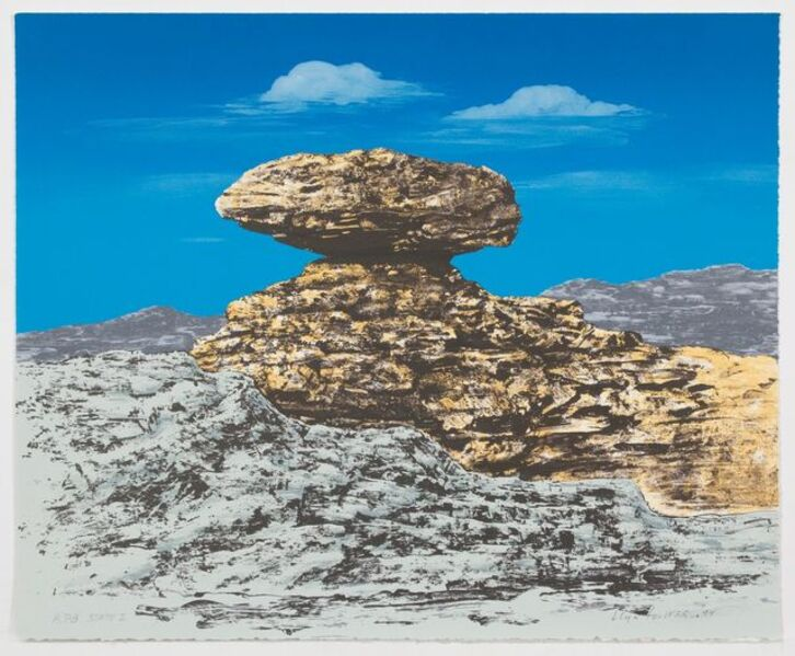 Llyn Foulkes, 'Lucius (State I)', 1994