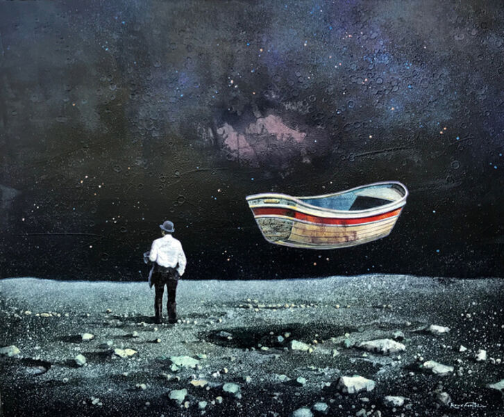 Eric Roux-Fontaine, 'Moon Boat', 2019