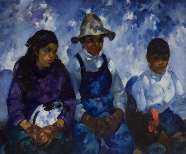 Martha Walter, 'Waiting to Enter', ca. 1920