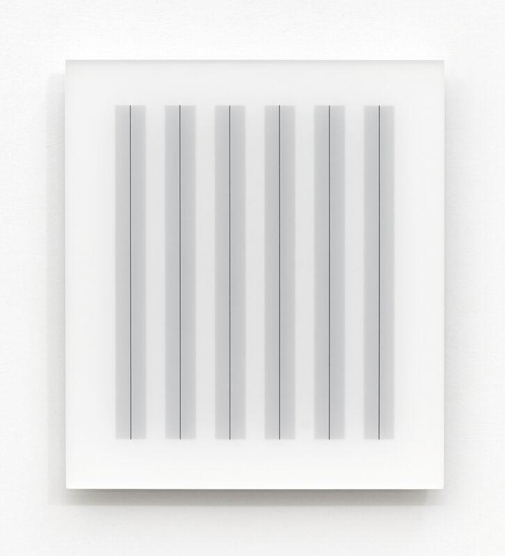 Hadi Tabatabai, 'Acrylic piece 2012-2', 2012, Installation, Acrylic paint on acrylic panel, Bartha Contemporary
